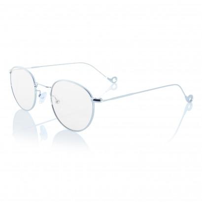Silver One - montatura in acciaio argento per occhiali da vista