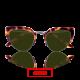 Charming metal frame polarized lenses